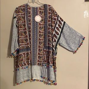 New Umgee paisley kimono
